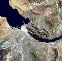 Hoover Dam Arial