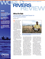 World Rivers Review, September, 2011 cover