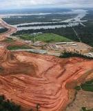 Belo Monte's Pimental dam site