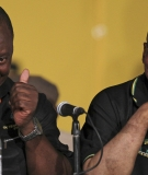 New ANC president Cyril Ramaphosa with Jacob Zuma