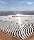Ouarzazate CSP plant in Morocco