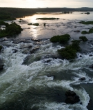 Previously protected stretch of the White Nile that will be submerged by Isimba Dam