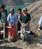 27 years after the massacre, the Rio Negro community came together to commemorate the tragedy and mourn the victims at the top of Pak'oxom peak.