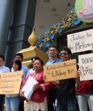 Lawyers representing the Thai community members who filed the case against the Xayaburi Dam, return to Court Friday to submit their final testimony