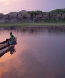 A photo taken along side the Zambezi River on a trip to Mozambique in 2007