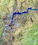 Gibe III reservoir is filling. Photo: Landsat