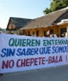 Bolivian protestors speak out to protect the Beni River