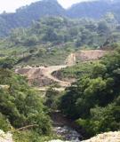 The Agua Zarca dam construction site in Honduras
