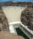 The iconic Hoover Dam on the Colorado River