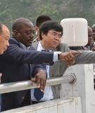 President Kabila visiting China's Three Gorges Dam