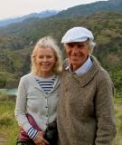 Doug Tompkins and his wife Kris in Patagonia