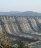The World Bank-funded Sardar Sarovar Dam in India