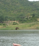 This homestead and fields would be drowned by Mphanda reservoir