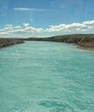 Patagonia's magnificent Río Santa Cruz, one of the last large free-flowing rivers in Argentina.