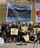 Baram Dam blockade.