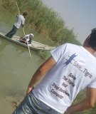 A scene from the Tigris River.
