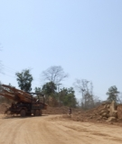 Logging Along Road to Kalum, March 2014