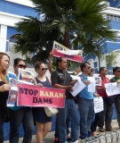 Baram residents working in Kuala Lumpur file police reports asserting their opposition to the dam.