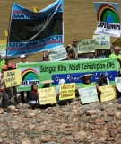 SAVE Rivers has protested against the Sarawak dams' impacts on indigenous peoples.