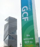 The Green Climate Fund headquarters in Songdo.