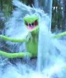Kermit the Frog has taken the ice bucket challenge.