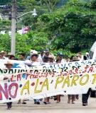 Communities March Against La Parota Dam