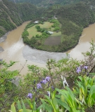 The Nu River's first bend in northern Yunnan Province, China