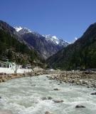 Bhagirathi River at Gangotri, Uttarakhand, India