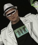 Jim Yong Kim rapping at Dartmough College
