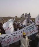 Protest against the Kajbar Dam in Sudan