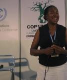 Rudo speaking at COP-17