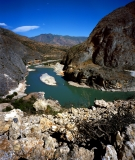 Great Bend of the Jinsha (upper Yangtze) River, China