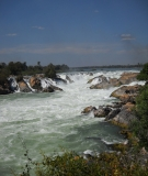 Khone Phapheng Falls near the Don Sahong Dam site