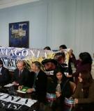 Conferencia de prensa el 9 de junio con motivo de la decisión del Comité de Ministros sobre HidroAysén.