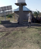 DWC helped implement this solar pumping station in Ethiopia.