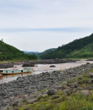 The site of the Xayaburi Dam, the first of eleven planned Mekong mainstream dams.