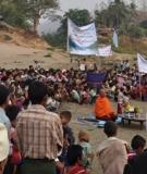 Ei Htu Hta Internally Displaced Persons camp on the Salween in Burma