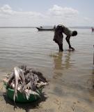 Fishing in Lake Turkana