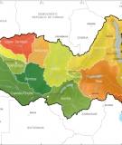 The 13 major sub-basins of the Zambezi River Basin.