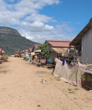 Temporary camp for communities displaced by the dam collapse, Nov 2019