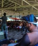 Indigenous gathering at the Tapajos River