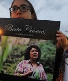Berta Cáceres memorial vigil