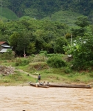 Downstream of the proposed Nam Ngiep 1 Dam, villagers rely on the Nam Ngiep for their livelihoods