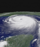 Hurricane Katrina, Category 5 Storm, Aug. 28, 2005