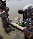 Fishing at Lake Turkana