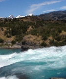 The Baker River, in Chilean Patagonia
