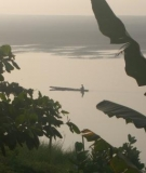The Mekong River in Vientiane, Laos