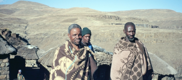 At least 10 million people, including these farmers in Lesotho, have been displaced by World Bank dam projects