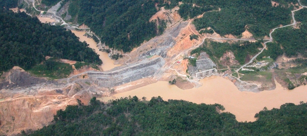 Malaysia's Bakun Dam would not have been possible without funds from China Exim Bank to the Malaysian Government