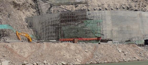 Jinsha Dam Construction in China, built by China Datang Corporation